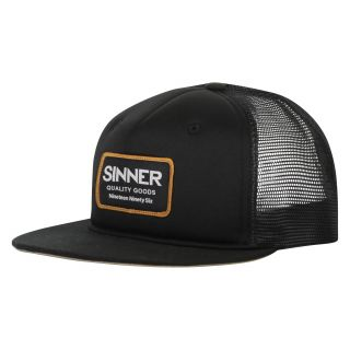 Sinner SNAPBACK / CAP LOGO BADGE / BLACK