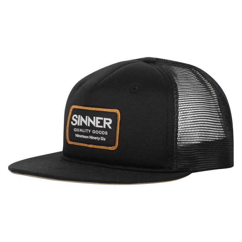 Sinner SNAPBACK / CAP LOGO BADGE / BLACK