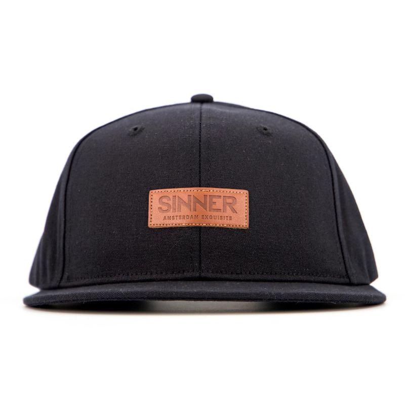Sinner SNAPBACK / CAP LOGO EMBROIDERY / BLACK