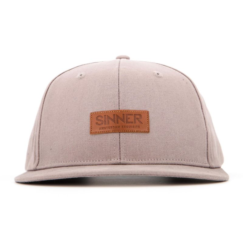 Sinner CAP SINNER AMS EXQ.  / GREY /STRAPBACK
