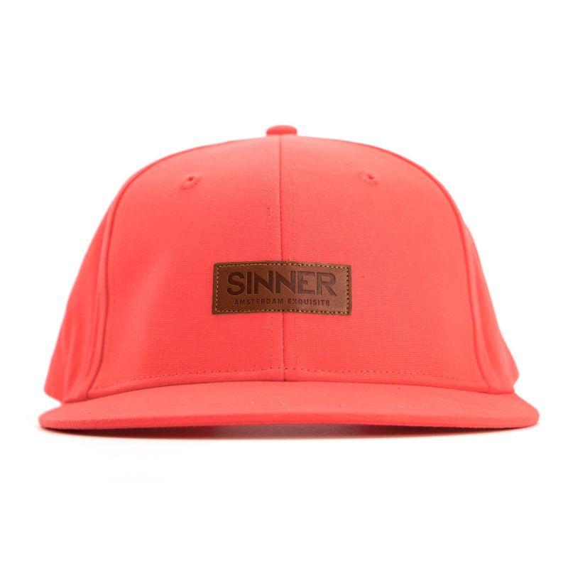 Sinner CAP SINNER AMS EXQ. / Neon coral / STRAPBACK