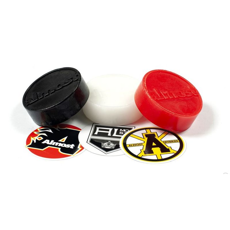 ALMOST WAX PUCK RED
