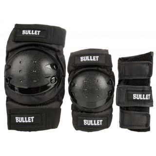 BULLET JUNIOR COMBO (PACK DE PROTECTIONS ENFANT) BLACK
