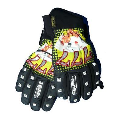 Glove Las Vegas Black Gant de ski Pipe Homme