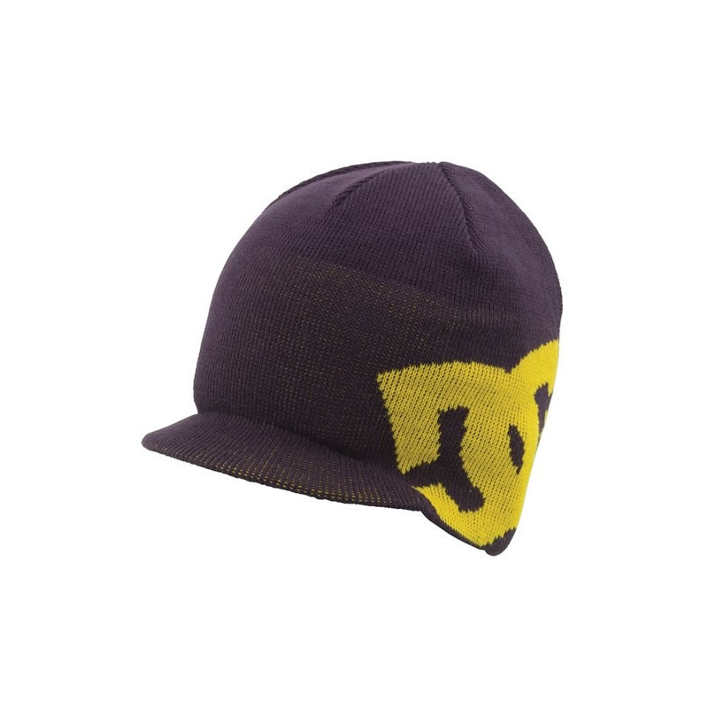 DC SHOES BIG STAR VISOR BEANIE PURPLE VELVET