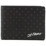 DC SHOES SEALED DEAL BI-FOLD WALLET BLACK