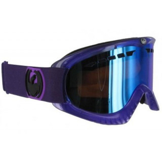 DRAGON DX GOGGLE LIQUID PURPLE HAZE / BLUE STEEL + AMBER