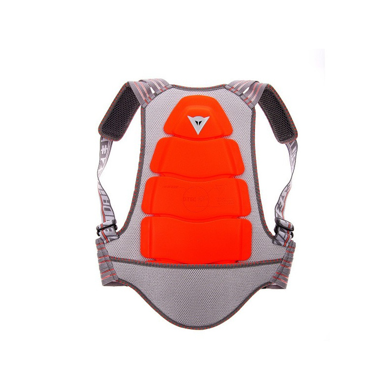 KID BACK PROTECOR 02 JUNIOR ROSSO FLUO