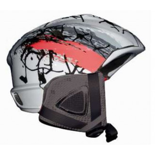Casque de ski et snowboard :  LEGER RED DESIGN