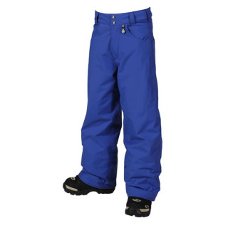 volcom pantalon technique enfant, recruit insulated pant junior strobe blue