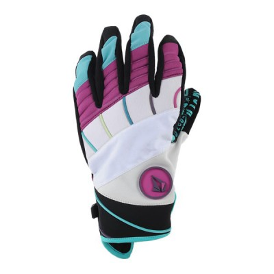 Volcom Gants Techniques Homme, Hypnotized Neoprene Pipe Glove White