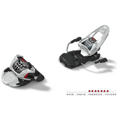 Fixation Ski Marker Free Ten 100 2013 Blanc / Noir / Rouge