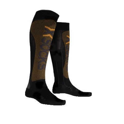 Chaussettes De Ski : X-socks X Factor Noir / Orange