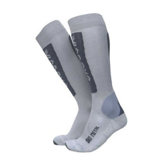 Chaussettes Ski Metal Lady Or / Blanc