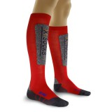 Chaussettes de ski Discovery Junior rouge / anthracite