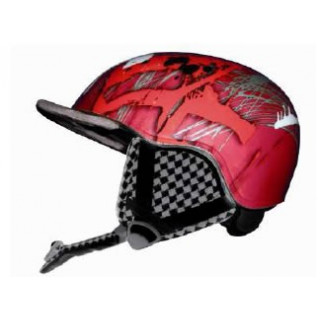 Skimeter protection casque SNOW LEGER AIR SYSTEME RED DESIGN