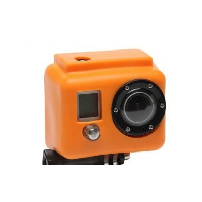 Gopro Boitier En Silicone Cover Orange