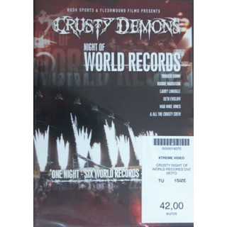 crusty night of world records dvd moto