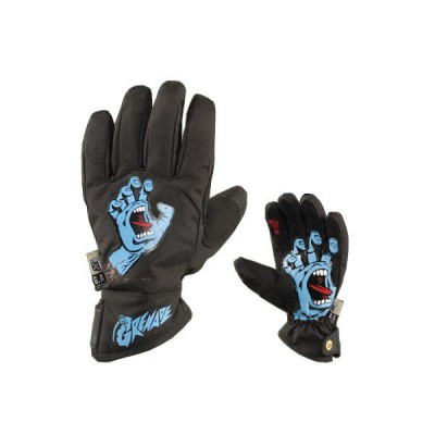Grenade Gloves Screaming Hand Black