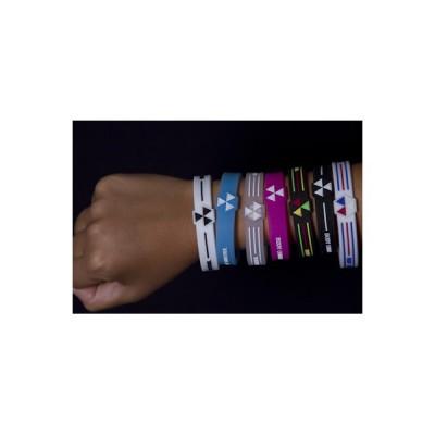 Bracelet Magnétique Body Control Blanc  Bleu