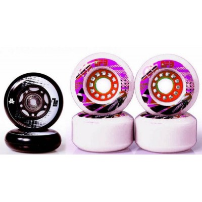 Freebord Slasher Wheel Kit 80mm White