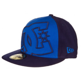 Dc shoes casquette new era coverage 2  cap VIVID BLUE