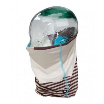 686 Tour De Cou Roller Face Gaiter Turquoise Mix Camo