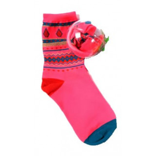 Volcom chaussettes JINGLE BALLS NEON ORANGE