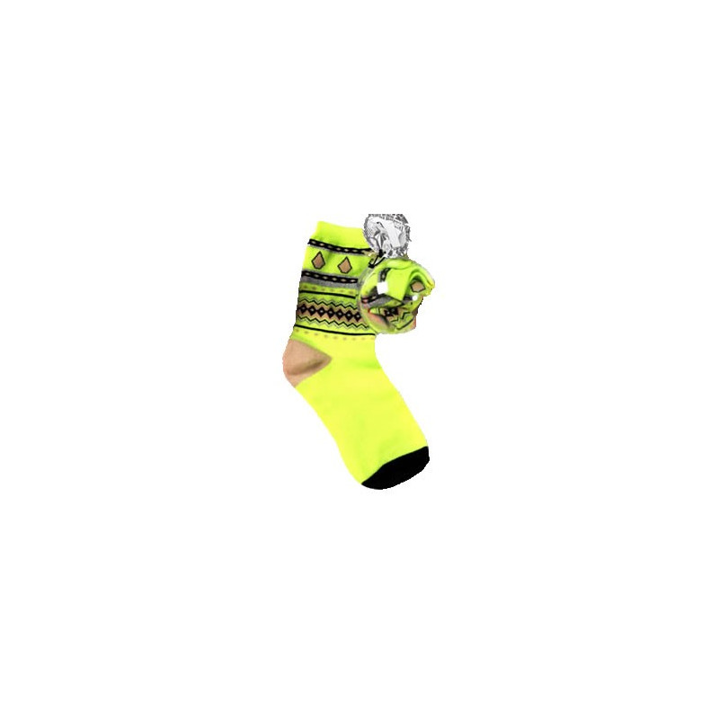Volcom chaussettes JINGLE BALLS NEON YELLOW