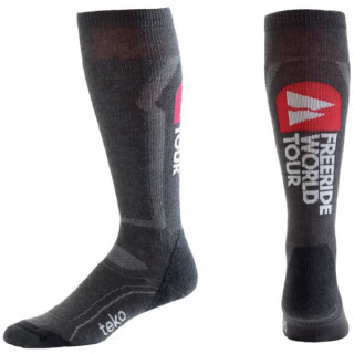 Teko chaussettes ski light s3 WORLD TOUR charcoal heather