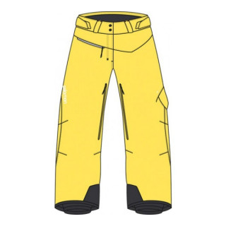 Salomon Pantalon Ski SIDEWAYS 2 PANT W YELLOW