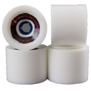 Madrid pack 4 roues longskate WHEEL venom cannibals white