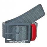 Dc shoes ceinture CRUNDERMAN BELT pewter
