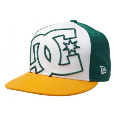 Globe Casquette Coverage  New Era Cap White / Green / Yellow
