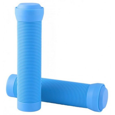 Grips Flangeless With End Plugs Ice Blue