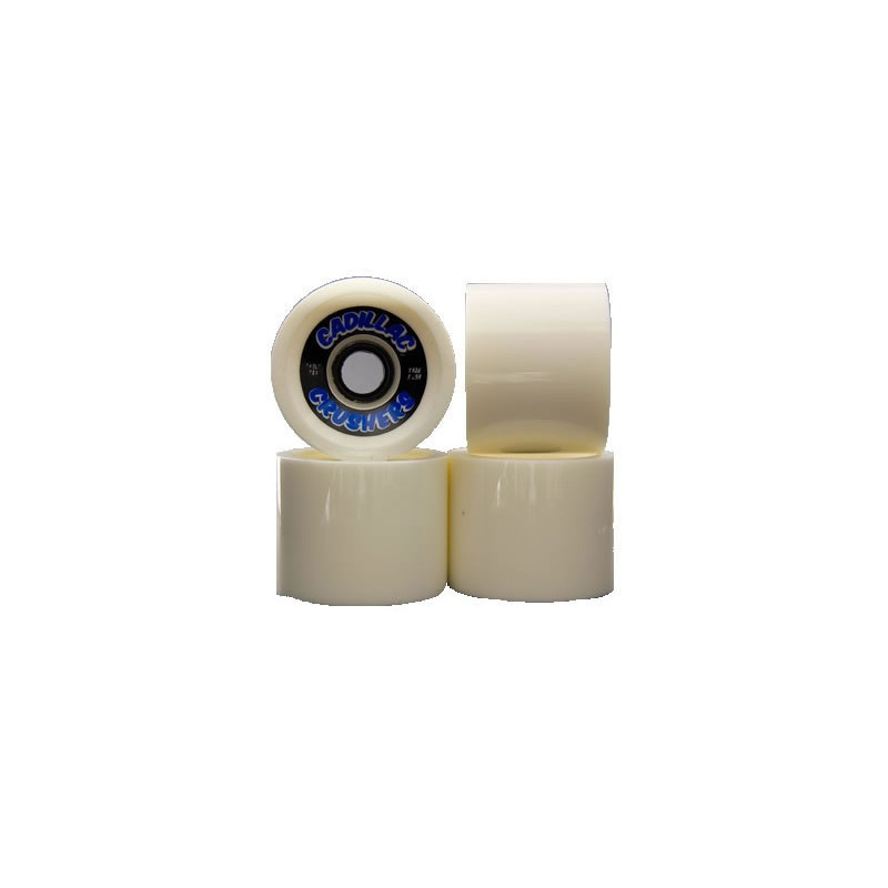 Cadillac 4 roues pour longskate WHEEL crushers white