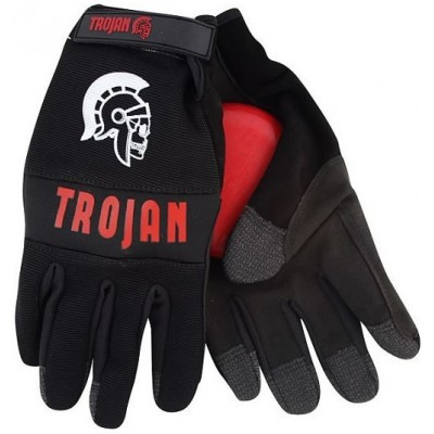 Trojan Gants De longSkate  Back / Red