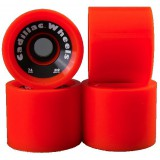 Cadillac 4 roues pour longskate WHEEL cruiser orange
