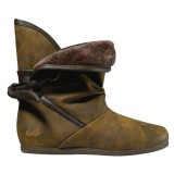 DVS chaussures femme SHILOH BUTTON BROWN LEATHER
